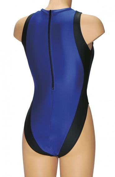 Badpak Met Dichte Rug.Badpak 1290 Kleim Swimwear
