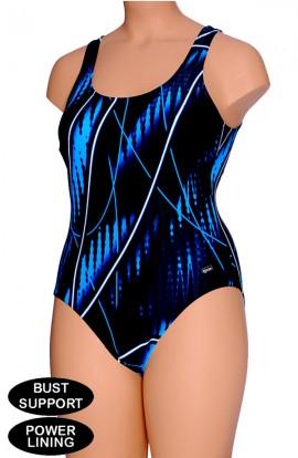 Badpak Met Dichte Rug.Kleim Zwemkleding Voor Het Zwembad Kleim Swimwear